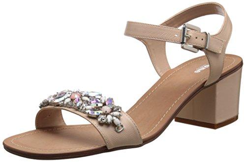 kensie-fleece-embroidered-mule-slippers-damen-us-7-rosa-slipper