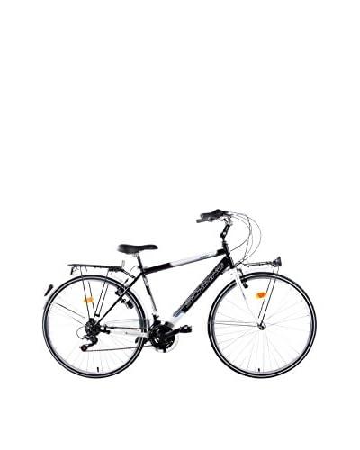 Schiano Bicicletta 28 Freetime 18VShimano Bianco/Nero