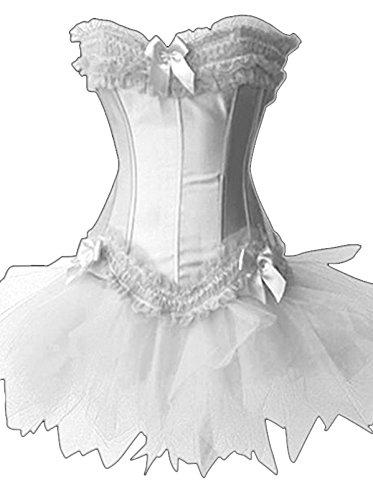 Forever-Young-Burlesque-Moulin-Rouge-Lolita-FANCY-DRESS-Corset-Tutu