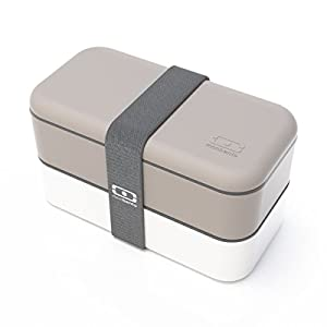 Monbento the bento box MB Original - grey/white
