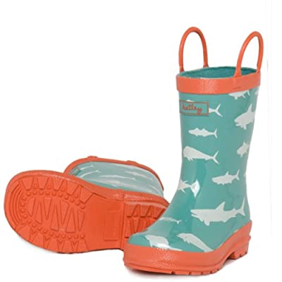 Boys Game Fish Wellies by Hatley