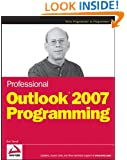 Professional Outlook 2007 Programming