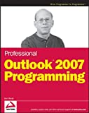 img - for Professional Outlook 2007 Programming book / textbook / text book