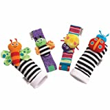 Toy - Lamaze Gardenbug Wrist Rattle Foot finder Set