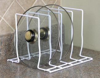Home Basics Lid Storage Rack