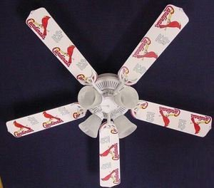 Ceiling Fan Designers 52FAN-MLB-STL MLB St. Louis Cardinals Baseball Ceiling Fan 52 In. at Amazon.com