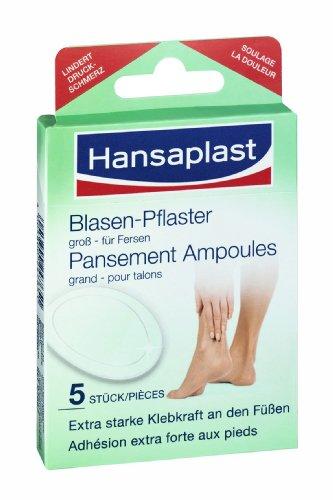 Hansaplast Blasen-Pflaster groß, 5er