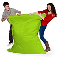 Big Brother Beanbags X-L funky bean bags, great for indoors or outdoors (LIME) by Beautiful Beanbags