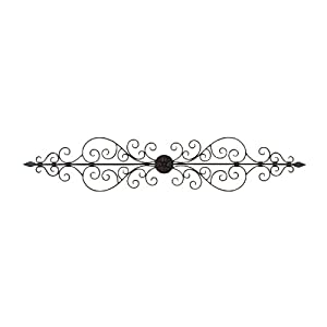 Amazon.com - Benzara 26545 44 in. Elegant Metal Scroll Wall Decor