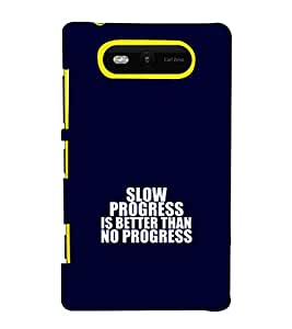 printtech Gym Quotes Back Case Cover for Nokia Lumia 820::Microsoft Lumia 820