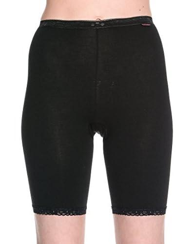 Cotonella Set 3 Pezzi Pantalone Modellante [Nero]