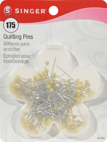 Singer Quilting Pins in Flower Box, 175-Count