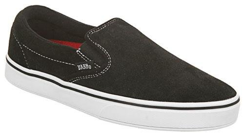 Vans TNT 3 Men's Slip On Shoes - Black / White / White