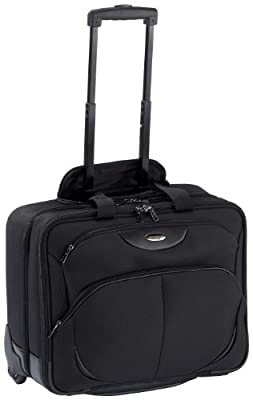 Samsonite Pro-Tect Business Rolling Tote Briefcase for 16 inch Laptop - Black from Samsonite