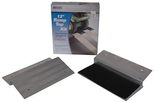 Highland (1100100) Ramparts 12″ Aluminum Ramp Top Kit – 2 Piece