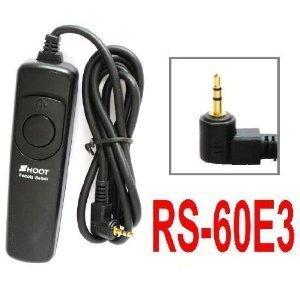 Remote Shutter Release for Canon Rebel T2i, XT, XTi, XSi, XS, T1i, EOS 550D/1000D/450D/400D/350D/300D