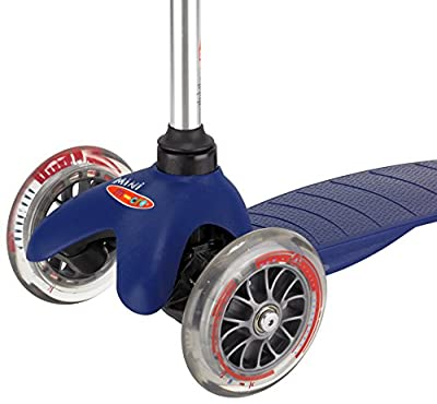 Mini Micro scooter Childrens scooter with T-bar handle - Blue
