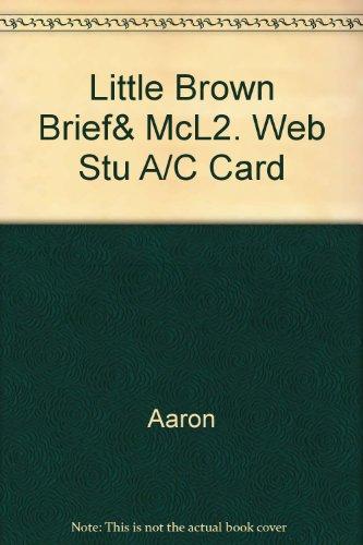 Little Brown Brief& McL2. Web Stu A/C Card