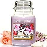 Yankee Candle Housewarmer Jar (Beach Flowers) - Small (3.7oz)