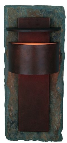 Kenroy Home 70286SL Pembrooke Large Lantern, Slate