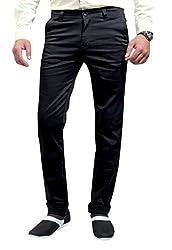 Raj Creation Men's Trouser (Raj Creation-2_Black_32)