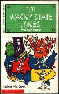 101 Wacky State Jokes, Berger,Melvin