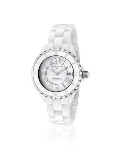 Swiss Legend Women's 10049-WWSR Karamica White High-Tech Ceramic Watch