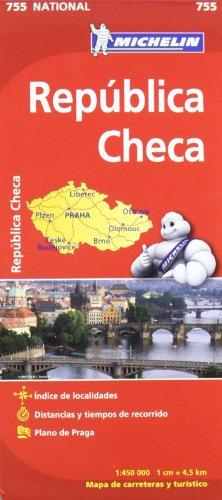 Mapa National República Checa (Mapas National Michelin)