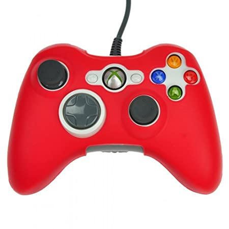 HDE® Protective Silicone Skin fits Xbox 360 Controller - Red