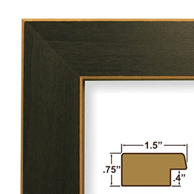12x16 Picture Frame / Poster Frame 1.5 Wide Complete Blue Wood Frame (276BL)
