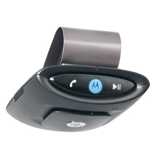 MOTOROLA T505 BLUETOOTH CAR SPEAKERPHONE BLUE TOOTH NEW