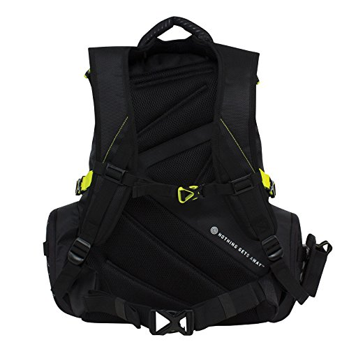 Spiderwire fishing tackle backpack w 3 medium utility for Fishing tackle box backpack