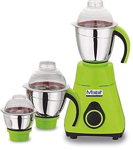 Meet Squarish 750W Mixer Grinder (3 Jars)