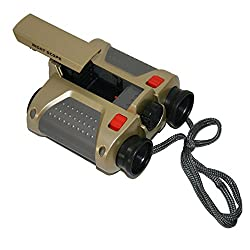 Spy Thriller Toy Binocular With Night Vision LED Lights