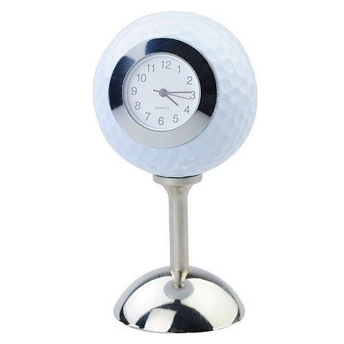 Golf Ball Table Desk Clock With Stand By Tjspecia