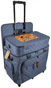 Hemline Studio XL Three-Bag Quilting Set in Slate Blue