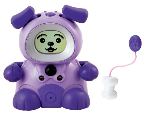 Vtech Kidiminiz KidiDog Interactive Pet Dog - Purple Puppy - 1