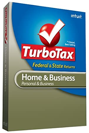 TurboTax Home & Business Federal + State + Federal efile 2009