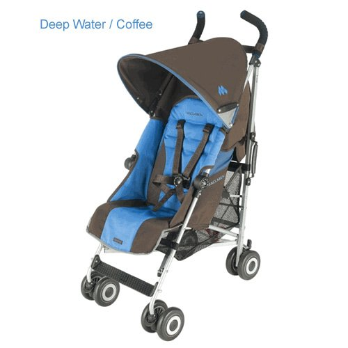 Maclaren Quest Sport Stroller, Deep Water/Coffee