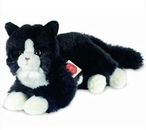 Teddy Hermann 90679 Katze schwarz 25 cm