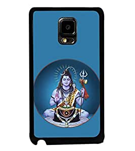 printtech Lord Shiva Om Namah Back Case Cover for  Samsung Galaxy Tab 4 7.0 T231
