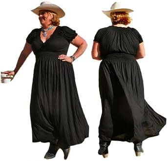 BBW Boutique Women's Maxi Peasant Dress at Amazon Women's Clothing