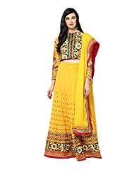 Yepme Alied Lehenga Choli Set - Yellow -- YPMLEHG0007_Free Size