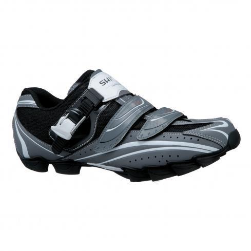 Shimano SH-M087GE Mountain Bike Shoes (Wide) - Men's, Grey, 45