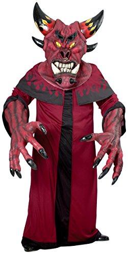 Rubie's Costume Co Men's Creature Reacher Dark Diablo Costume, Red, Standard