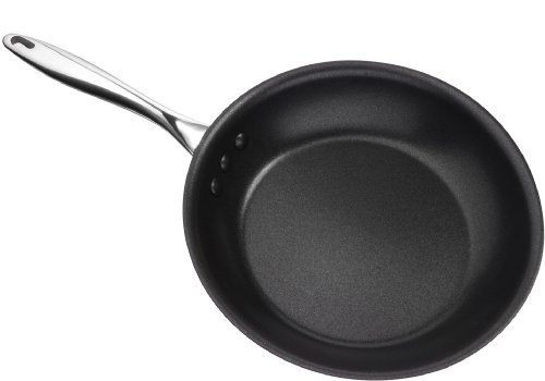 Ozeri 12-Inch Stainless Steel Pan with ETERNA, a PFOA and APEO-Free Non-Stick Coating