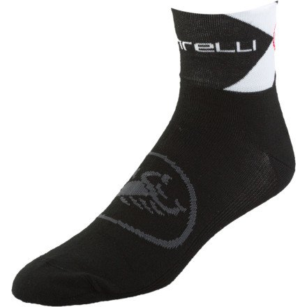 Buy Low Price Castelli Classica 6 Sock (B004P8F8QO)