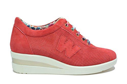 Melluso Sneakers zeppa corallo scarpe donna Walk R2179 38