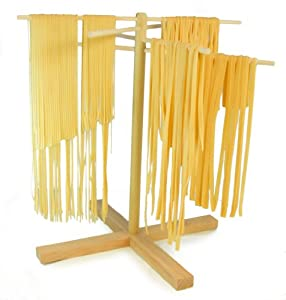 Amazon.com: Sturdy Pasta Drying Rack (Handmade in USA) Solid