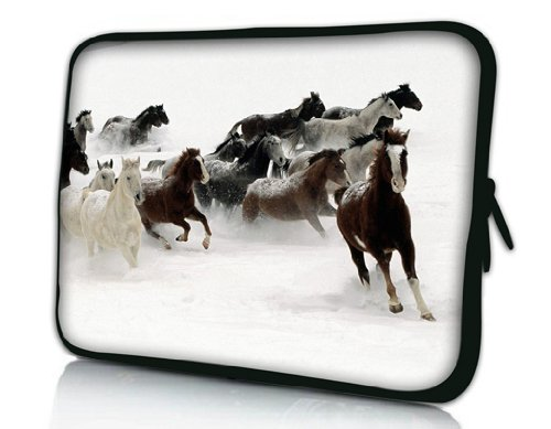 Affordable New Fashion Design Horse 9 7 10 10 1 10 2 Inch Neoprene Laptop Netbook Tablet Case Sleeve Bag Cover Pouch For Ipad 2 Ipad3 Ipad4 Asus Eeepc 10 Transformer Acer